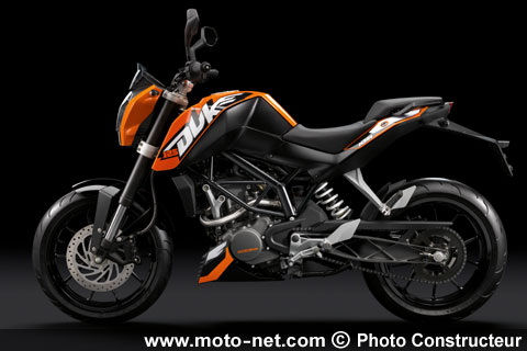 ktm duke 125 et concept 125. Black Bedroom Furniture Sets. Home Design Ideas