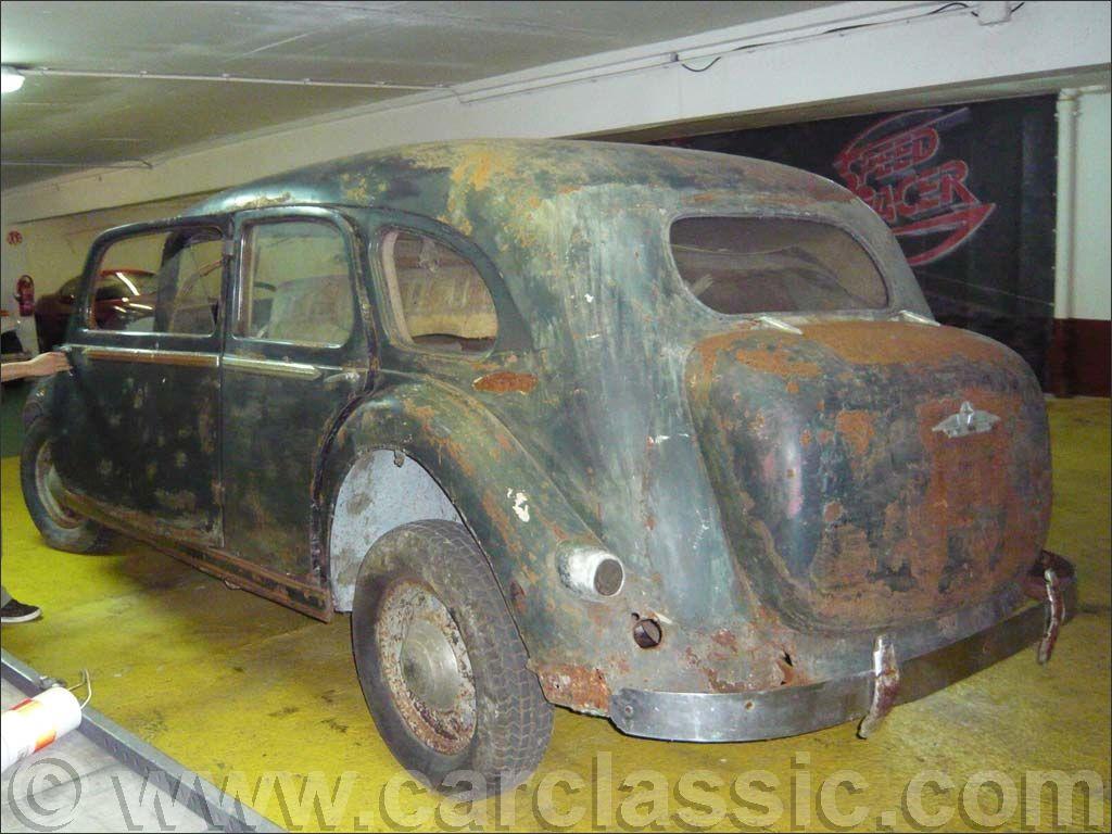 Les Renault d'avant guerre