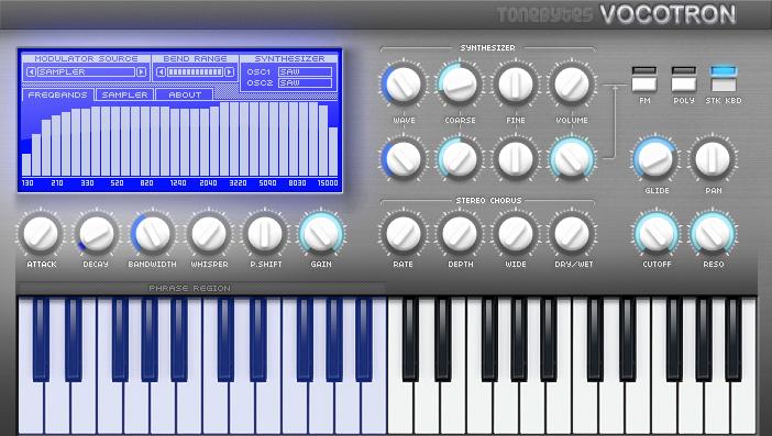 ToneBytes Vocotron VSTi 1.0, vsti tonebytes, VSTi, ToneBytes