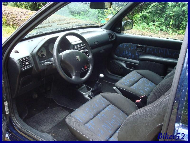 Int rieur semi bacquet peugeot 106 sport vendu for Interieur 106