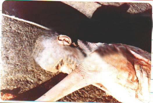 Un jeune homme asiatiqe sort son père de sa tombe et couper le corps 49158756bk1-1502e9d