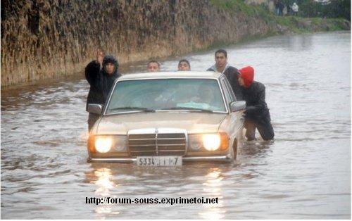 Photos de Casablanca sous le deferlement du Deluge Mimouni_i1-7--2341161