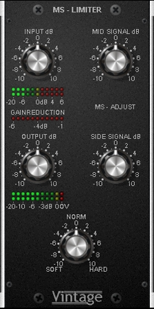 Starplugs Vintage MS Limiter VST 1.0 peace out | Images From Magesy® R Evolution™