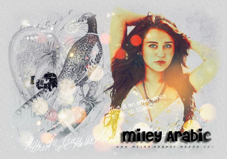 Miley Arabic